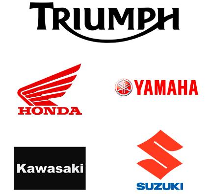 Motorcycle manufacturer logos